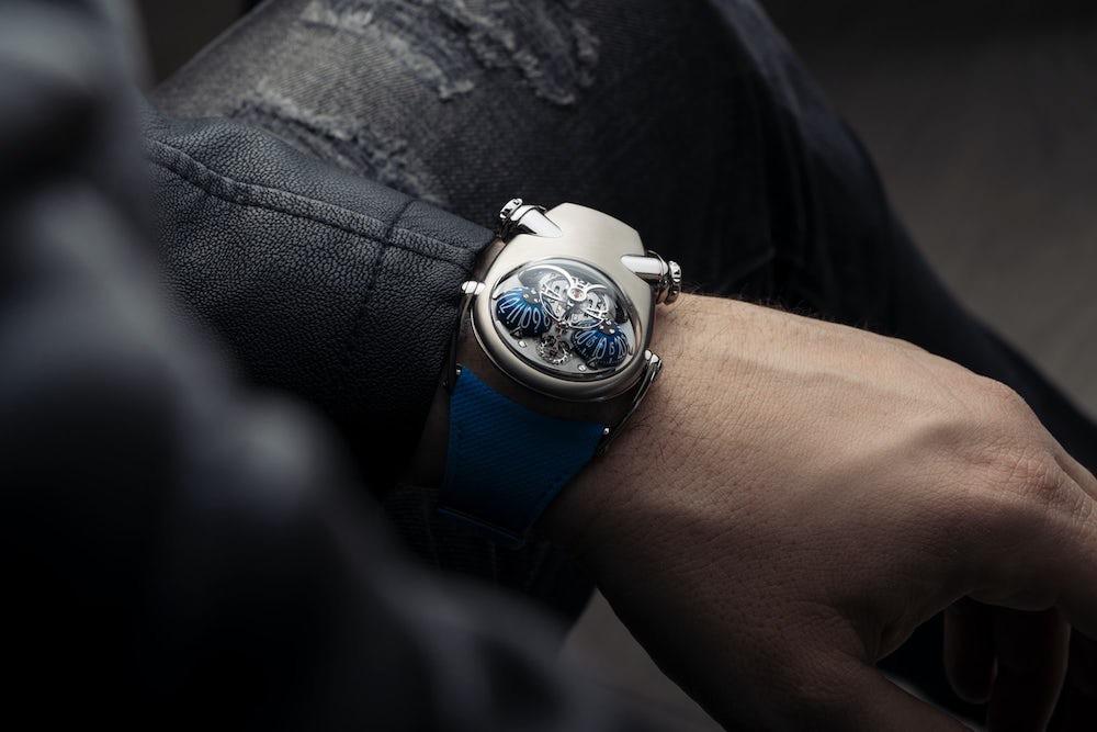 """El nuevo reloj de MB&F inspirado en el Bulldog advierte: """"Olvide al perro, cuidado con el dueño"""""""