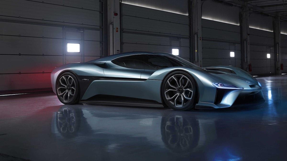 NIO EP9: Uno de los 7 autos eléctricos más rápidos del mundo.