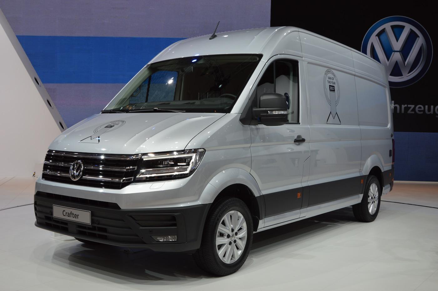 Giti Tire consigue su primer equipamiento de origen para vehículos comerciales ligeros con la VW Crafter