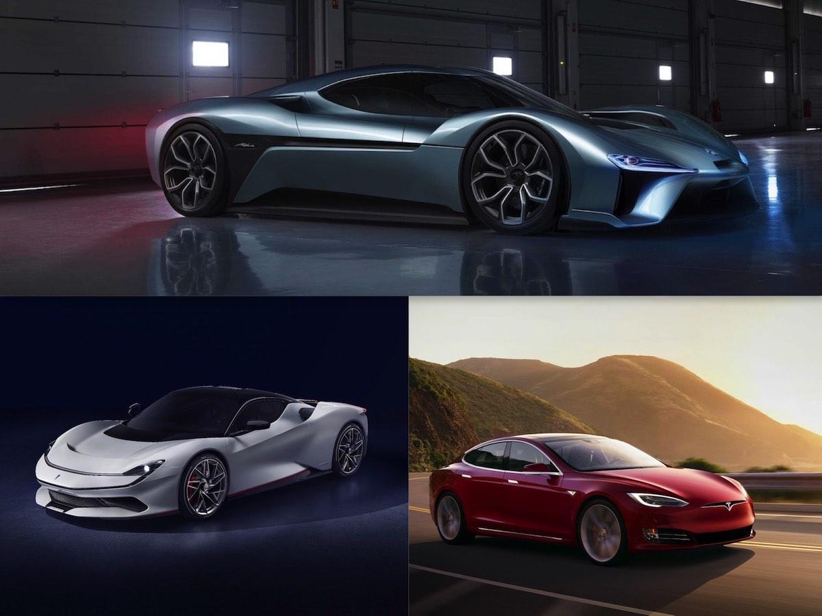 Estos son los 7 autos eléctricos más rápidos del mundo en este momento