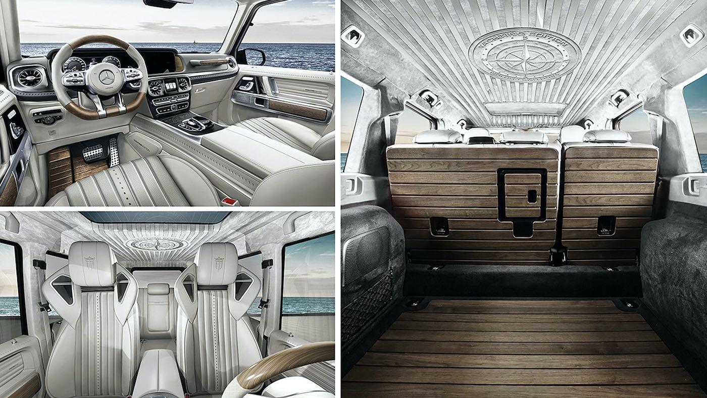 El lujoso todoterreno G-Yachting de Carlex es el sueño de los amantes del lujo náutico