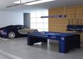ELYSIUM, la única mesa de billar en el mundo hecha de fibra de carbono por IXO