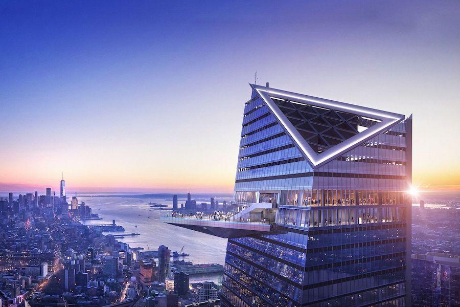 El mirador más alto del hemisferio occidental, con más de 1.000 pies de altura y con vistas de 360º de la ciudad de Nueva York