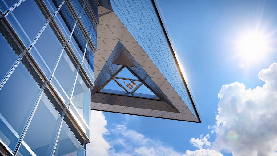 """""""The Edge"""", una plataforma a más de 1.000 pies de altura y con vistas de 360º de la ciudad de Nueva York"""