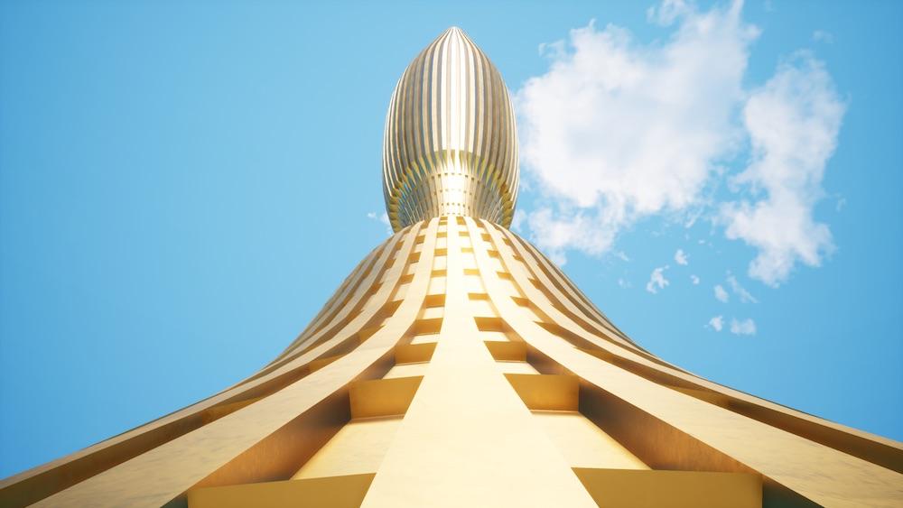 El rascacielos The Vertical Yacht
