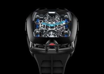 El nuevo reloj Jacob & Co. Bugatti Chiron.