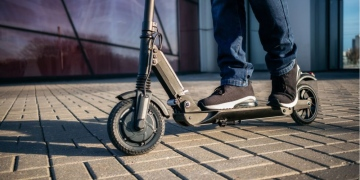 El scooter Audi e-tron