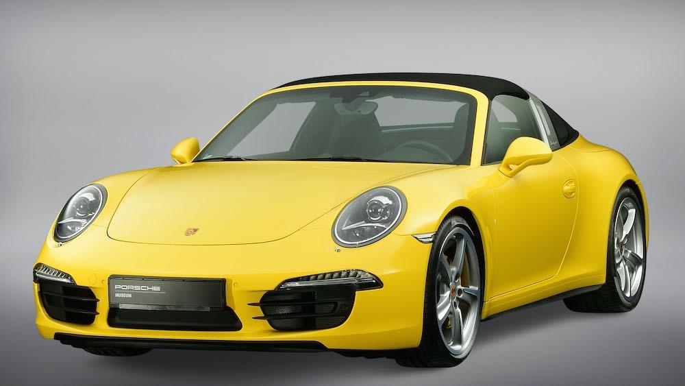 911 Targa Type 991: el regreso de la legendaria barra antivuelco Targa