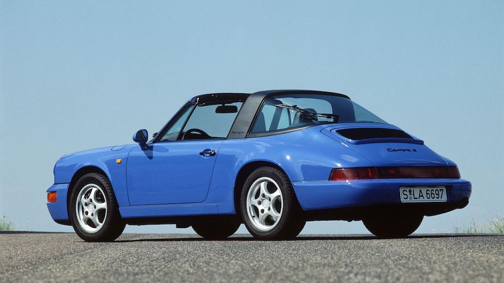 Llega el 911 Type 964 con un 85% de piezas nuevas, pero el Targa permanece como un clásico