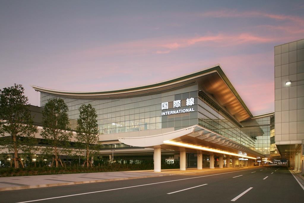 Aeropuerto Internacional de Haneda en Tokio, Japón.