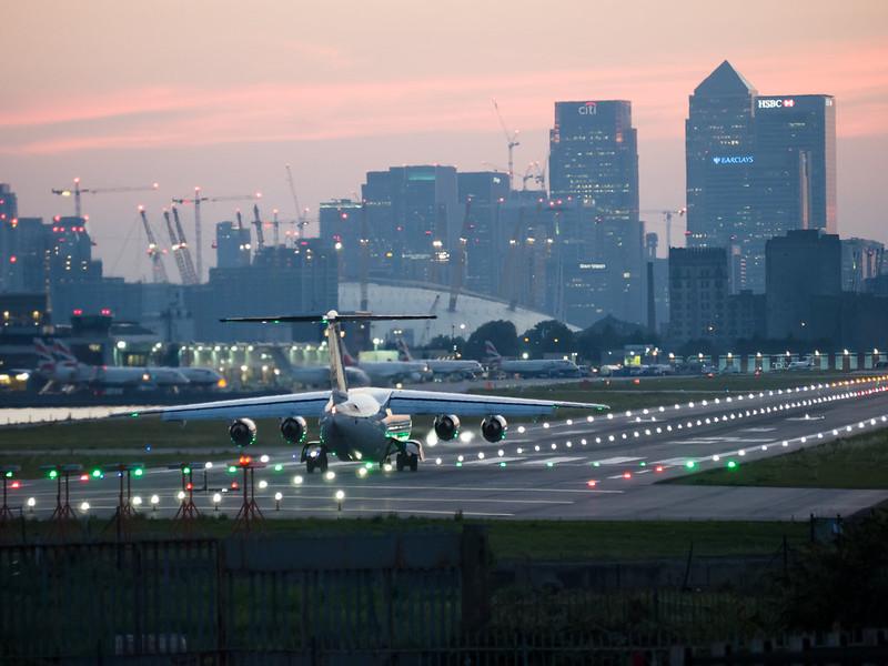 Aeropuerto de la Ciudad de Londres (London City Airport)