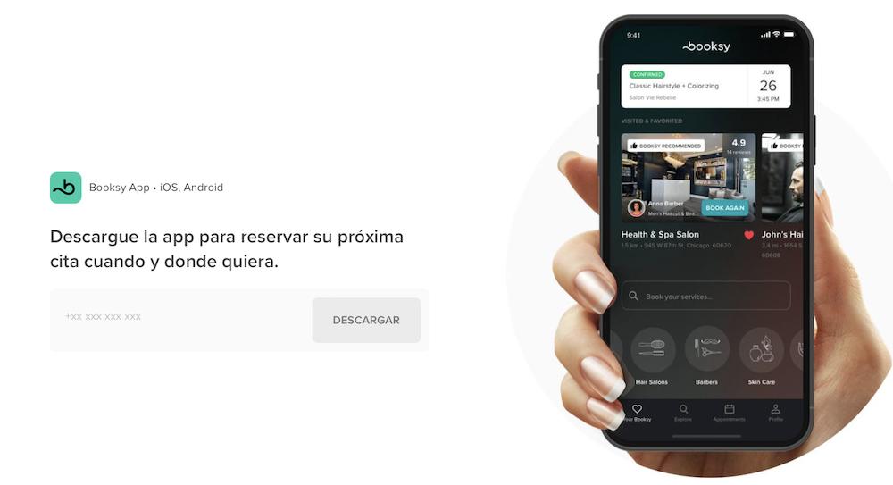 Booksy la app Nº5 de descarga en Itunes, y la Nº1 en Google Play (Belleza)