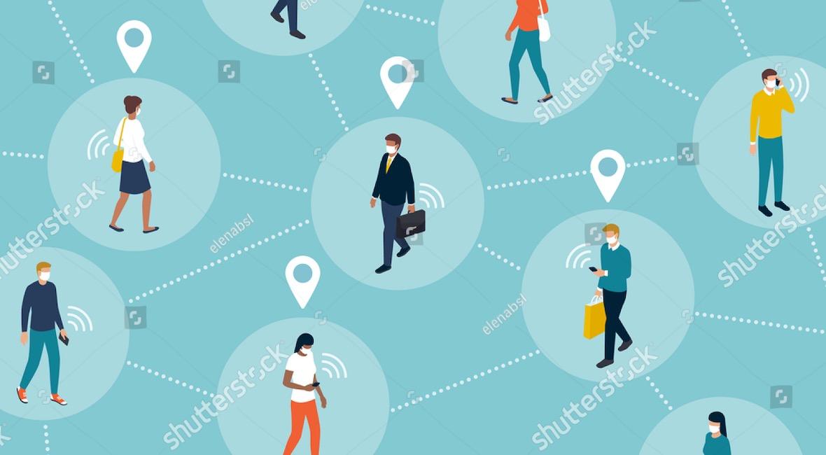Docena de estados en EE.UU. contratan rastreadores de contactos