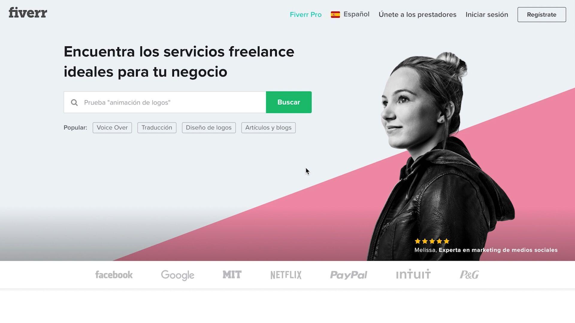 Fiverr, la plataforma internacional de trabajos freelance, llega a España