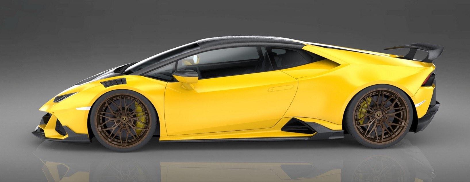 1016 Industries crean el primer Lamborghini Huracán Evo 100% de fibra de carbono del mundo