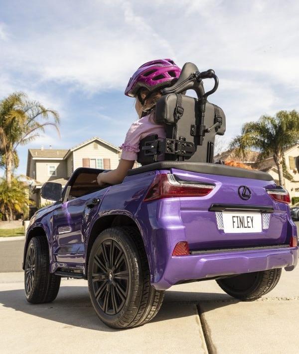 Lexus y la Cerebral Palsy Foundation se asocian para crear un vehículo infantil accesible para una niña