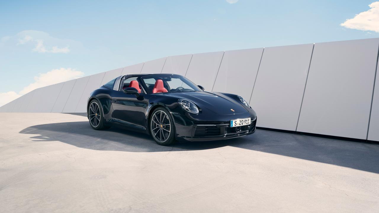 Nuevo Porsche 911 Targa 2020: puro diseño