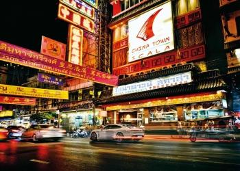 Porsche Taycan Turbo en Bangkok