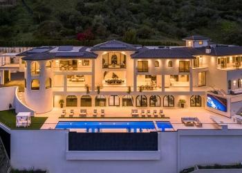 UNICA, la mega mansión en Bel-Air de $100 millones que posee más comodidades que cualquier resort cinco estrellas del mundo