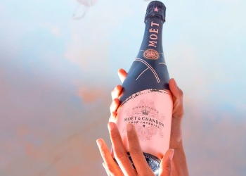 Conoce la nueva botella de champán Moët & Chandon Signature Rosé Impérial