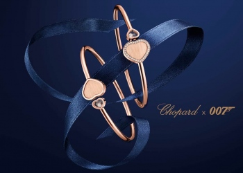 "La colección Chopard x 007 ""Happy Hearts - Golden Hearts"""