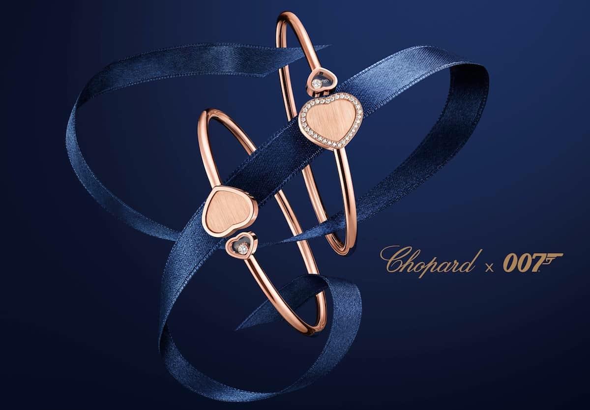 Happy Hearts - Golden Heart de Chopard: Una exclusiva colección de corazones de oro en homenaje a las mujeres James Bond