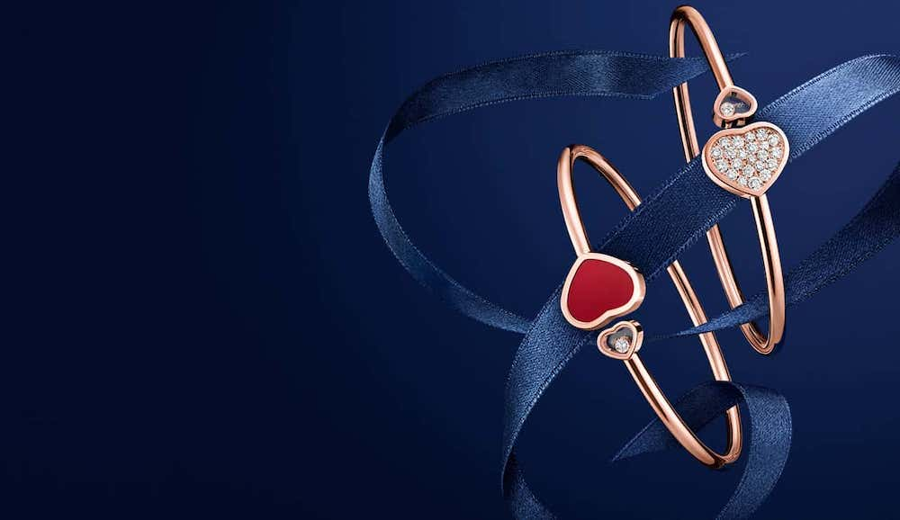 """La colección Chopard x 007 """"Happy Hearts - Golden Hearts"""""""