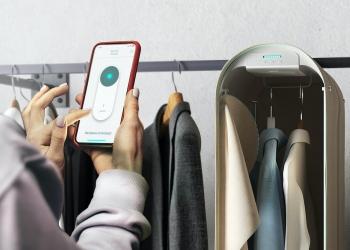 Pura-Case: Un innovador guardarropa portátil que puedes controlar desde tu smartphone para desinfectar la ropa con ozono