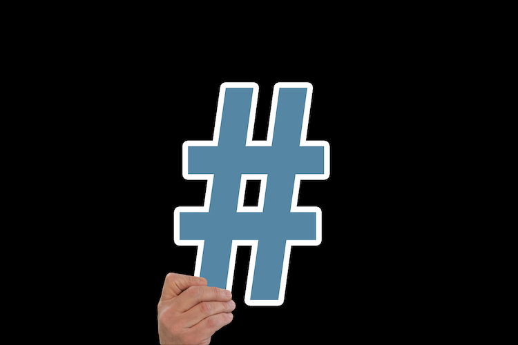 Usar los hashtags correctamente