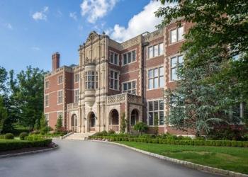 Alquile esta mega mansión de 50.000 pies cuadrados en Nueva Jersey por $150,000 al mes
