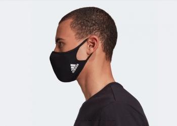 La mascarilla Adidas Face Cover se pueden lavar y reutilizar