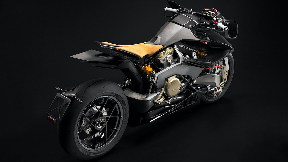 Vyrus regresa con la poderosa motocicleta Alyen 988 de 202 hp impulsada por un motor Ducati
