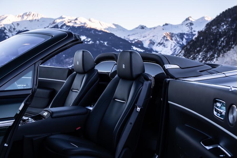 El nuevo Rolls-Royce Dawn Aero Cowling: Transformación elegante y única