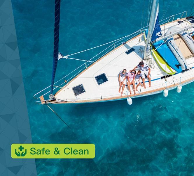 """Nautal crea """"Safe & Clean"""": un distintivo de higiene y seguridad para las embarcaciones de alquiler"""