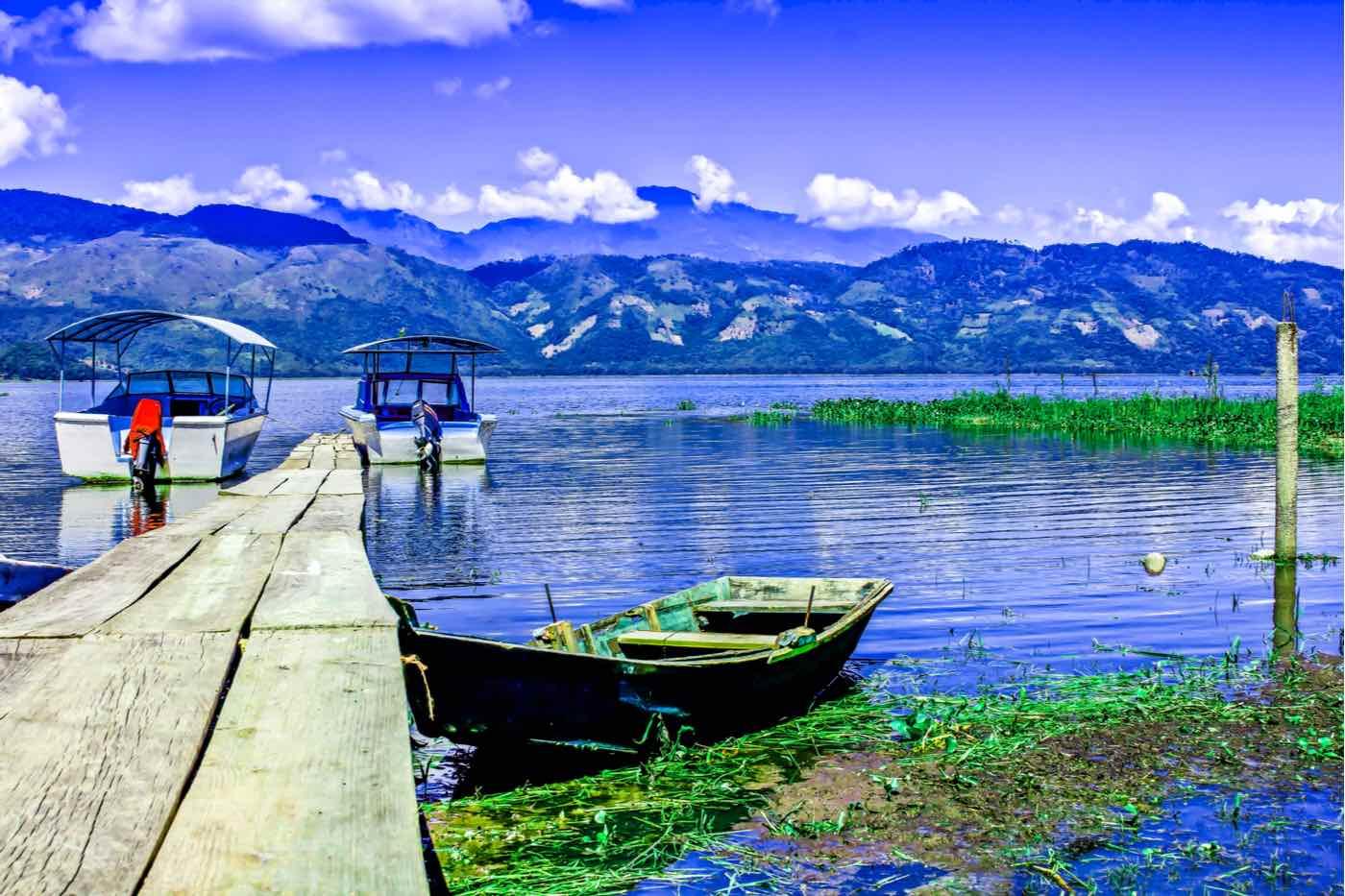 Lago de Yojoa en Honduras
