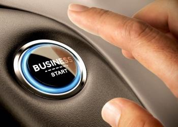 Botón para empezar negocio
