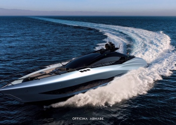 Officina Armare presenta el súper veloz concepto de yate A88 GranSport