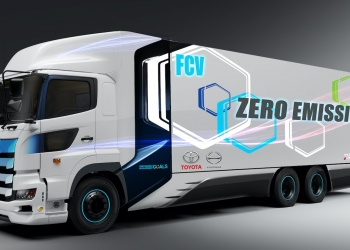 Toyota e Hino desarrollan un camión de gran tonelaje de pila de combustible de hidrógeno