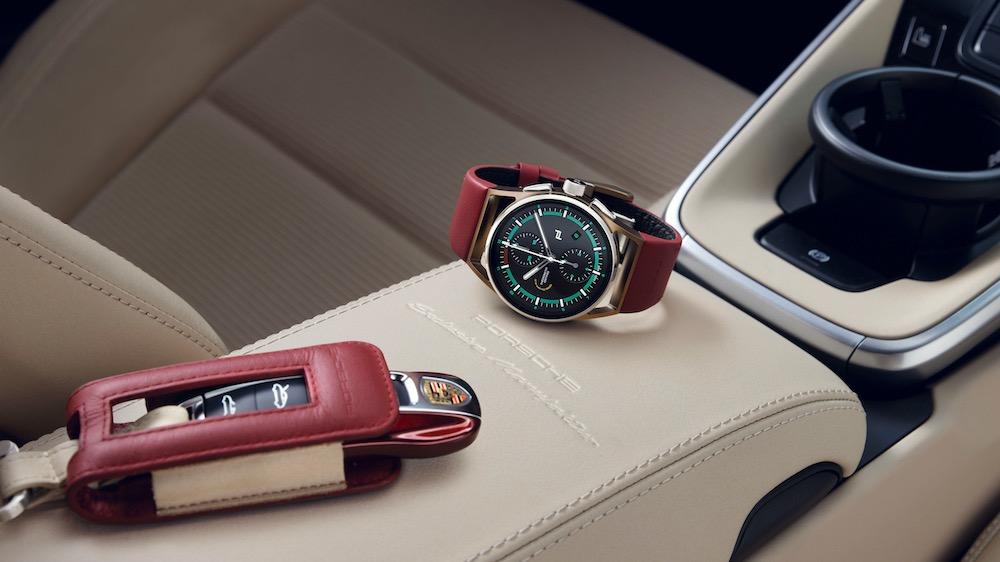 Cronógrafo 911 Targa 4S Heritage Design: reloj a juego con el coche