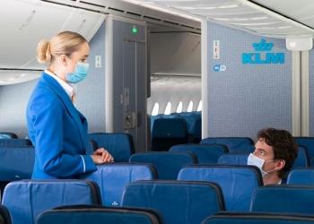 KLM explica cómo se mantiene la calidad del aire a bordo de sus aviones