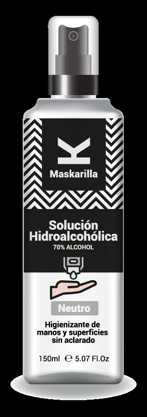 K de Maskarilla lanza sprays higienizantes para alargar la vida útil de las mascarillas de tela