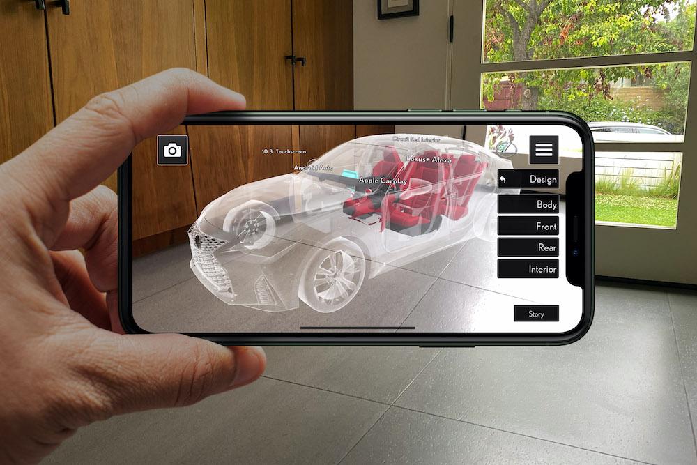 """Lexus presenta la aplicación """"Lexus Ar Play"""" para lanzar el nuevo IS 2021"""