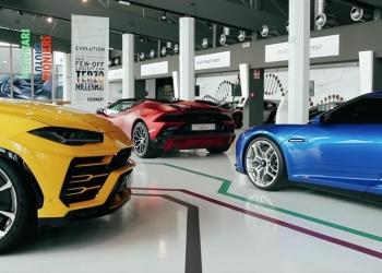 MUDETEC, el museo de tecnologías Lamborghini, te da la bienvenida