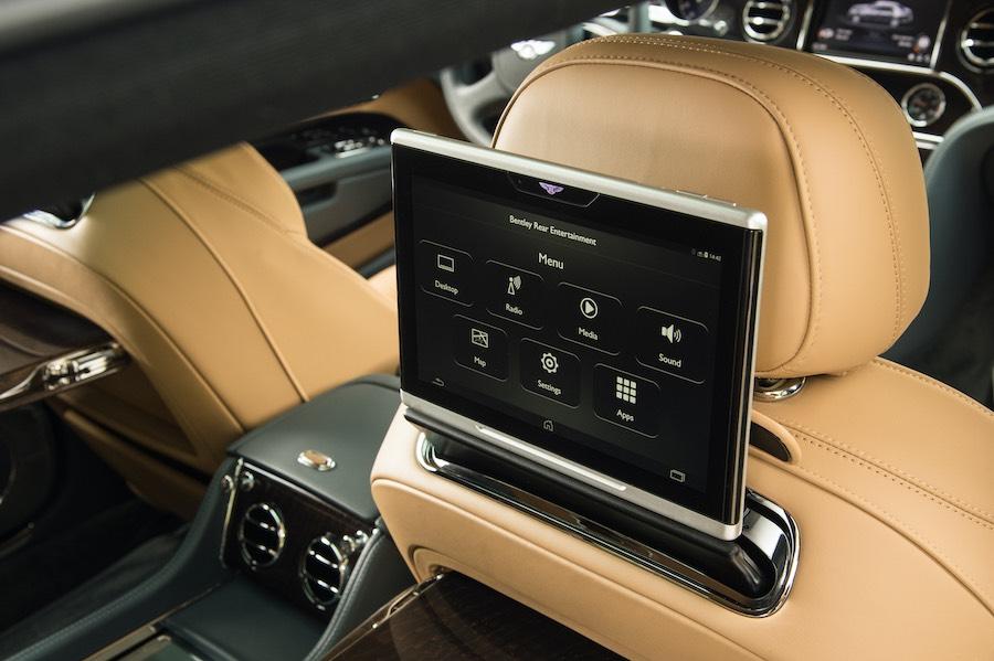 Bentley, el confort de los asientos traseros elevados a nuevas cotas