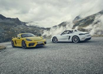 Porsche 718 Spyder y 718 Cayman GT4