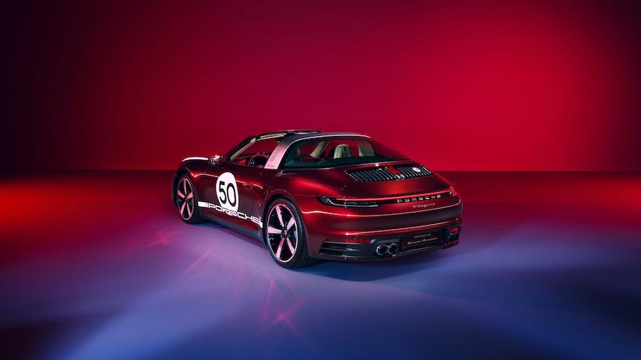 Porsche 911 Targa 4S Heritage Design: homenaje a la tradición