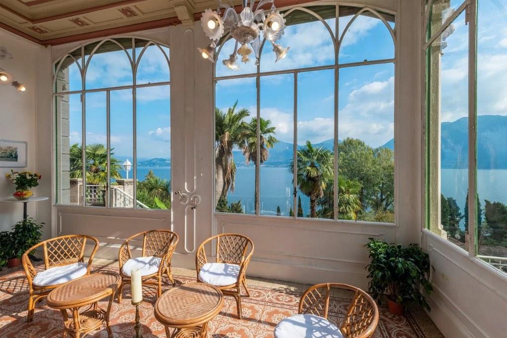 Suntuosa villa con vista al lago en Ghiffa, Verbano Cusio Ossola, Italia