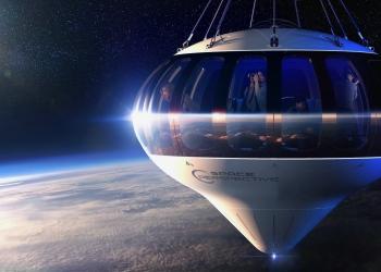 Este futurista globo aerostático llevará a los turistas al borde del espacio por $125.000