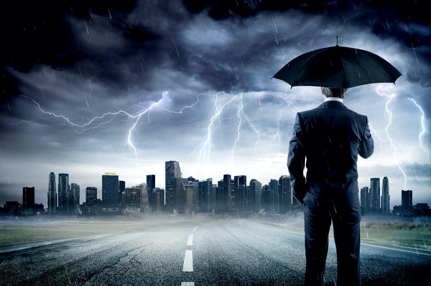 Cuando llega el diluvio financiero por JuanFer Campos