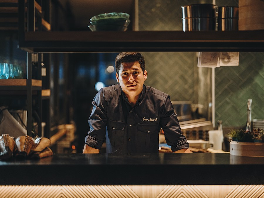 El chef peruano Omar Malpartida